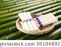 素面 面粉制成的日本面条 面条 30104892