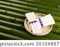 素面 面粉制成的日本面条 面条 30104897