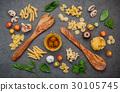 Italian foods concept and menu design.  30105745