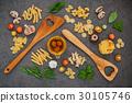 Italian foods concept and menu design.  30105746