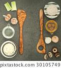 Italian foods concept and menu design. 30105749