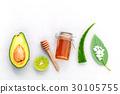 Homemade skin care and body scrub . 30105755