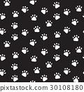 footprint, background, seamless 30108180
