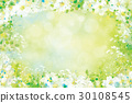 Vector spring floral background. 30108545