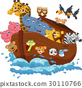 Noah's Ark cartoon 30110766