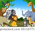 Wild Animal cartoon 30110771
