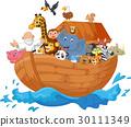 Noah ark cartoon 30111349