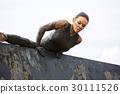 extrim race concept. Survival woman 30111526