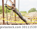 extrim race concept. Survival woman 30111530