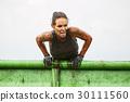 extrim race concept. Survival woman 30111560