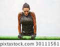extrim race concept. Survival woman 30111561