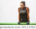 extrim race concept. Survival woman 30111562