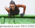 extrim race concept. Survival woman 30111563
