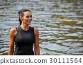 extrim race concept. Survival woman 30111564