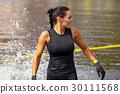 extrim race concept. Survival woman 30111568