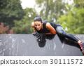 extrim race concept. Survival woman 30111572