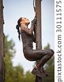 extrim race concept. Survival woman 30111575