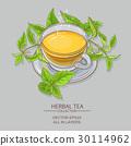 nettle, illustration, tea 30114962