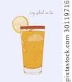 Long island ice tea. Vector 30119716