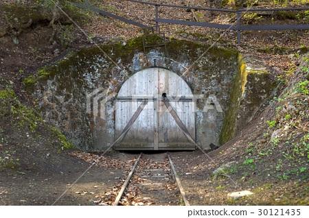 Underground mine passage angle shot 30121435