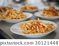French fries and meat on the table 30121448