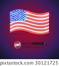 旗帜 旗 霓虹灯 30121725