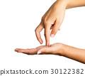 Woman hands 30122382