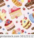 無縫的 蛋糕 向量 30123112