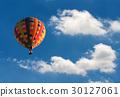 푸른, 공중, 풍선 30127061