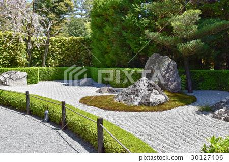 yang garden, myoshinji temple, taizoin temple - Stock Photo ...