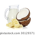 coconut, fruit, milk 30129371