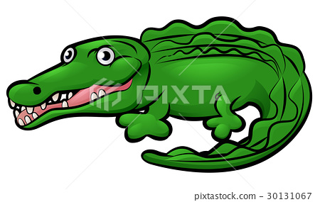 Crocodile Alligator Animal Cartoon Character 30131067