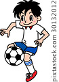 เด็กชายกำลังเล่นฟุตบอล 30132012