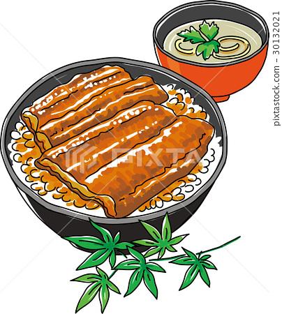 一碗鳗鱼饭 一组 喷鼻蒲烧烤 30132021
