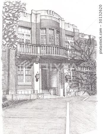 Kyoto University Faculty of Engineering, Main Building 30132620