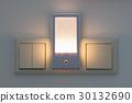 Plastic nightlight illuminating 30132690