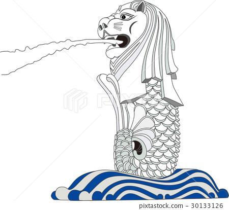 魚尾獅 30133126
