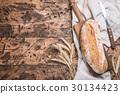 Fresh rye bread 30134423