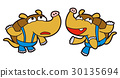 アルマジロのキャラクター、アイコン、アイキャッチ 30135694