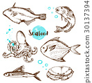 fish seafood hand 30137394