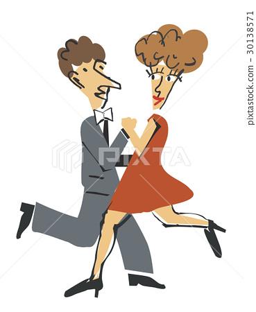 Ballroom dancers 30138571