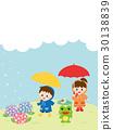 rainy, season, hydrangea 30138839
