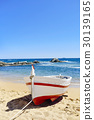 old fishing boat in Calella de Palafrugell, Spain 30139165