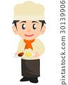 ช่างฝีมือ,เสมียน,ขนมปัง 30139906