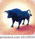 公牛 抽象 插圖 30139930
