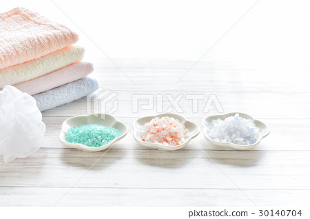 Bath image bath salt towel 30140704