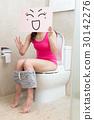 woman in bathroom 30142276