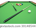 3d, illustration, billiard 30146544