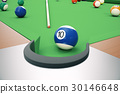 billiard, ball, pool 30146648