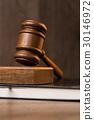 Book, mallet, hammer 30146972